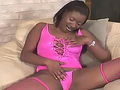 Adventure with hot black overweight slut