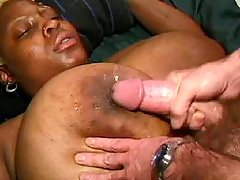 Black fatty with big ass fucks hard